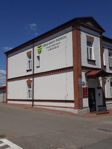 Budynek urzędu gminy Piątnica